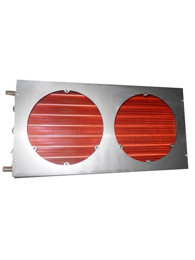 Copper tube copper fin evaporator