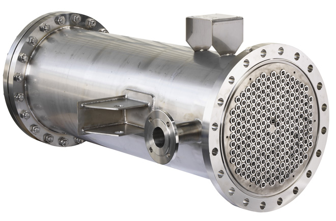 shell & tube water cooled condenser